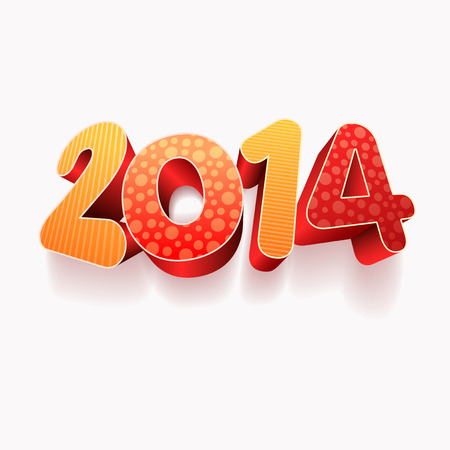 Year 2014! New year design template. Stock Vector - 22440900