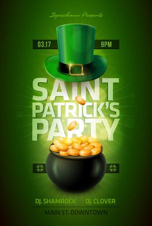 St の Patrick s 日ポスター デザインします。