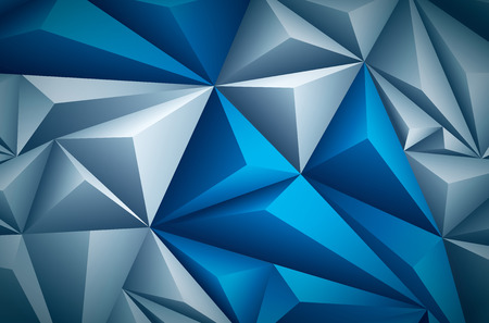 triangle pattern: Vector polygon background. Vector file is layered and CMYK color mode. Global colors. Easy editable. Illustration