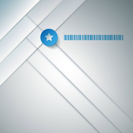 square abstract: Vector abstract business background design. Square composed.