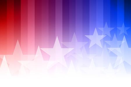 Wektor streszczenie tle gwiazdy. Niebieskie, czerwone i białe kolory. Ilustracje wektorowe