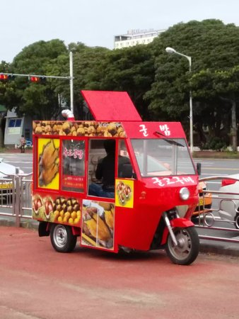 vendor: Korean Street Vendor Editorial