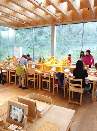 customise: DIY soap activity at the Innisfree Jeju House in Andeok-myeon, Seogwipo, Jeju, South Korea.