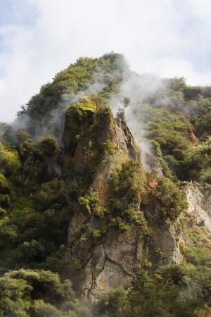 hot mountain photo