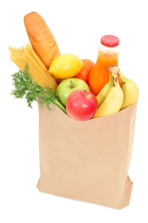 pastry bag: Grocery bag