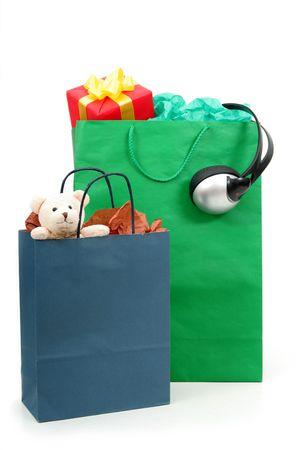 ni�os de compras: Bolsas de la compra