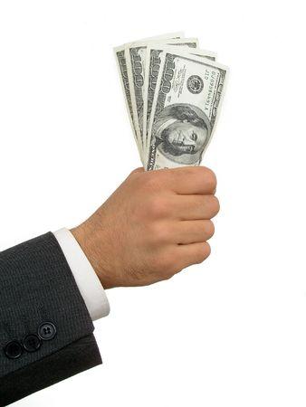 Handful of Money Stock Photo - 471831
