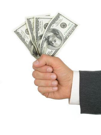 Handful of Money Stock Photo - 471832