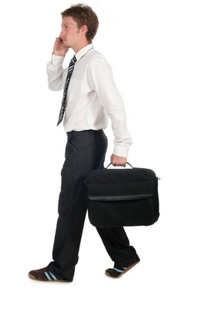 Businessman Walking Stock Photo - 489272