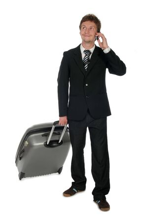 Travelling Businessman Stock Photo - 489223