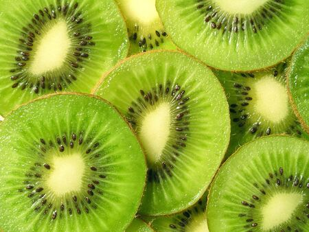 freshest: Kiwi Fruits Stock Photo