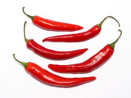 chiles secos: Aj� rojo