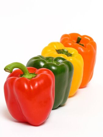 foodstuff: colorful peppers