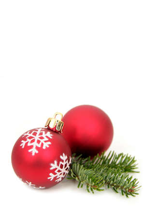 frond: Christmas decorations