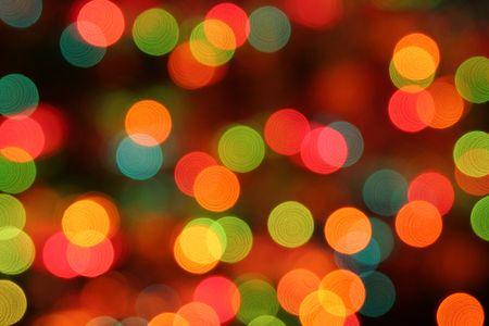 blurry lights: Offuscata Luci di Natale