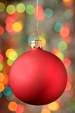 Christmas Ornament Hanging photo