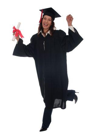 Happy Woman at Graduation