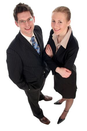 Business couple Stock Photo - 732531