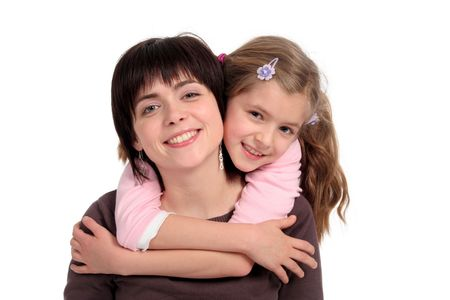 mothers group: Daughter Hugging Mother