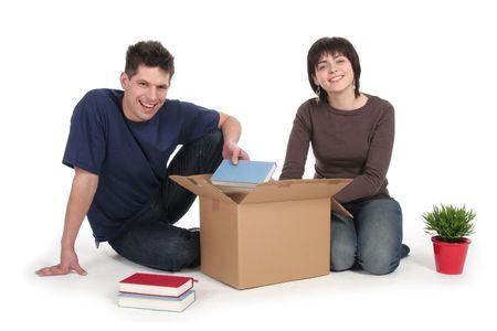 uitpakken: Paar Uitpakken Boxes