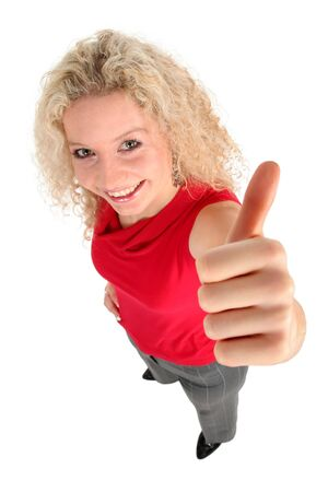 Woman With Thumb Up Stock Photo - 808391