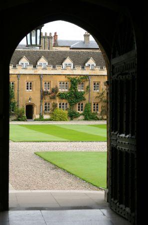 cambridge: Cambridge University, England, Trinity College Stock Photo
