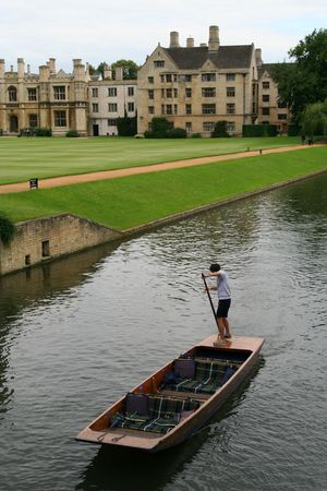 cambridge: Cambridge, England Stock Photo