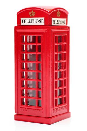 cabina telefono: Cabina de tel�fono de juguete Ingl�s