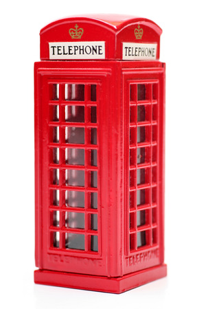 Toy English Phone Booth Stock Photo - 1414773