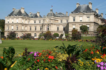 luxembourg: Palais du Luxembourg, Paris, France Stock Photo