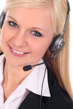 Call center operator Stock Photo - 2455919