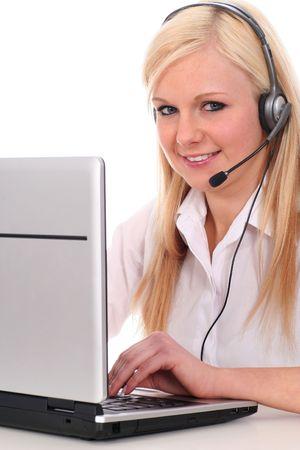 Call center operator Stock Photo - 2455948