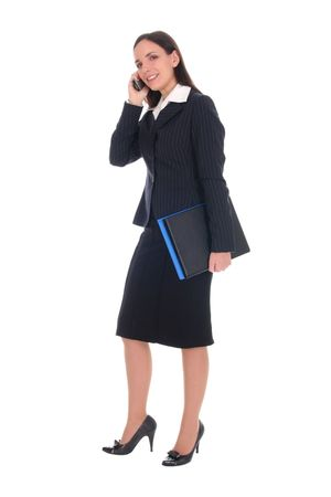Businesswoman talking on the phone Stock Photo - 2531104