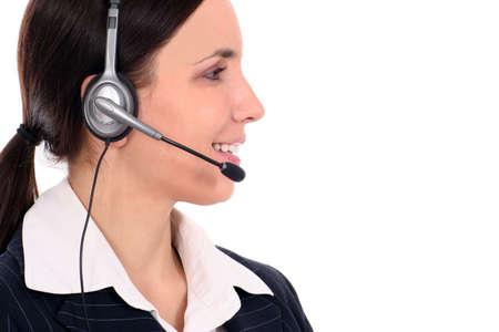 Call center operator Stock Photo - 2556555