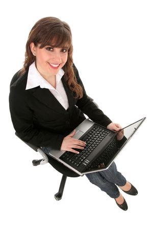 Woman using laptop Stock Photo - 2672662