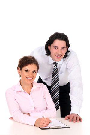 Business couple  photo