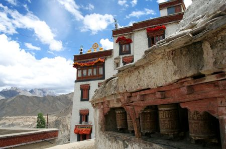 Lamayuru Monastery, Ladakh, India photo