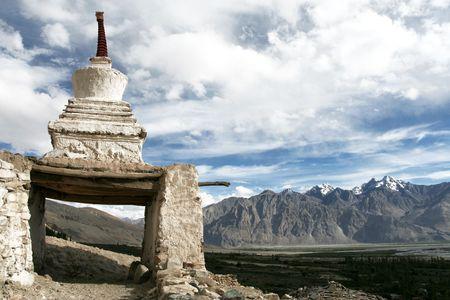 himalayas: Chorten, Himalayas, Ladakh, India