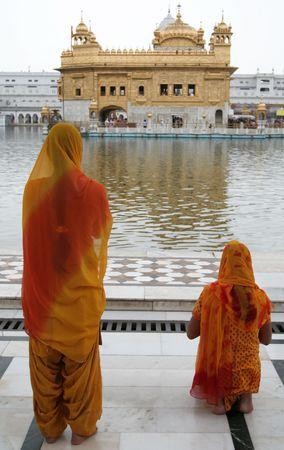 amritsar: Amritsar, Golden Temple Stock Photo
