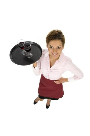 Waitress Stock Photo - 3637412