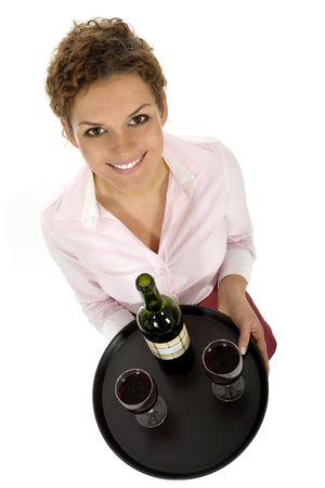 Waitress Stock Photo - 3637417