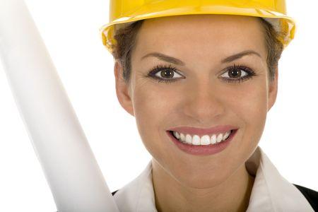 Female architect  Stock Photo - 3675463
