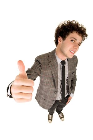 Man With Thumb Up Stock Photo - 3850622