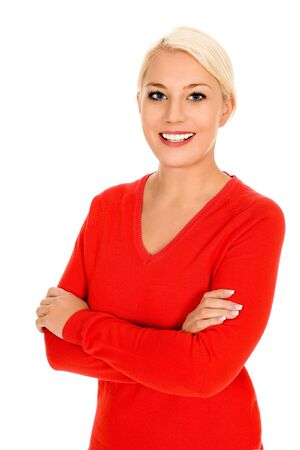 Woman with arms crossed Stock Photo - 4189094