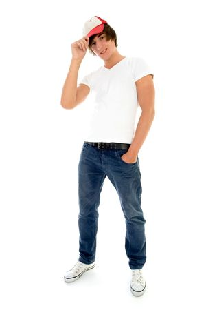 Casual cool young guy Stock Photo - 5179138