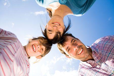 Happy family outdoors Stock Photo - 5530759