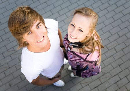Happy young couple  Stock Photo - 5589236