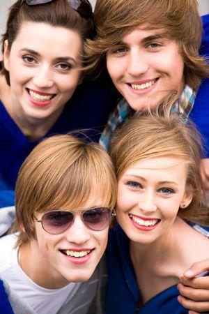 Four friends Stock Photo - 5644852