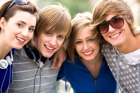 Group of friends Stock Photo - 5644885