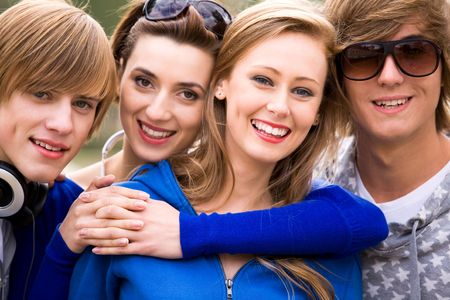 Group of friends Stock Photo - 5765521